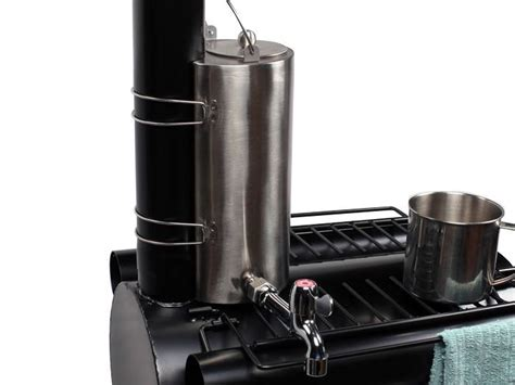 Fireplace Pipe Heater by Cing Water Kettle Pot For Wood Cook Stove Tent
