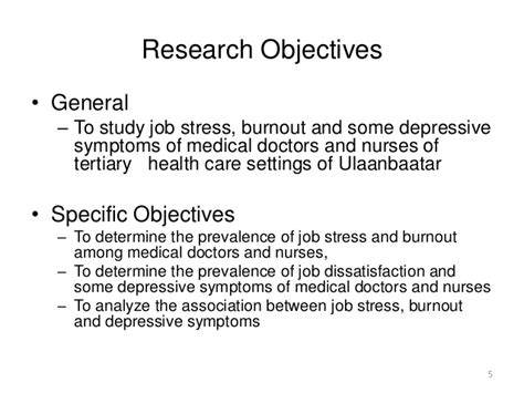statement of objectives in research research paper objectives learning objectives research