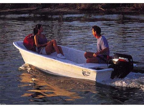 catamaran tender sold twin vee 8 fiberglass catamaran dinghy tender
