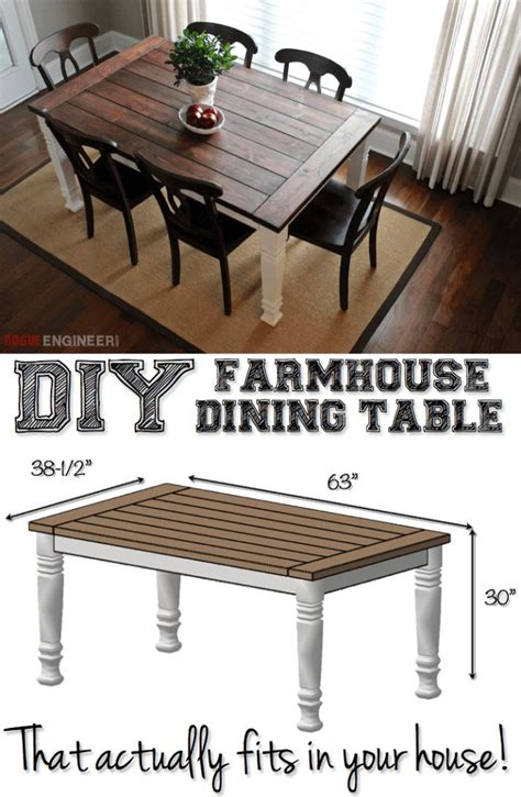 farmhouse kitchen table plans best 25 farmhouse dining tables ideas on