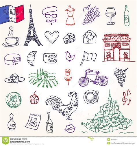 imagenes y simbolos de francia s 237 mbolos de francia como garabatos enrrollados fotos de