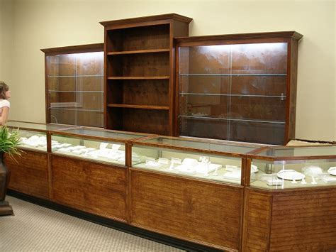 jewelry store display cases woodworking talk