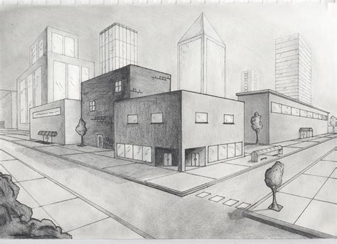 Drawing 2 Point Perspective Buildings by Best 25 Two Point Perspective City Ideas On 2