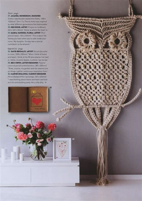 Macrame Rope Patterns - 25 best ideas about macrame owl on macrame