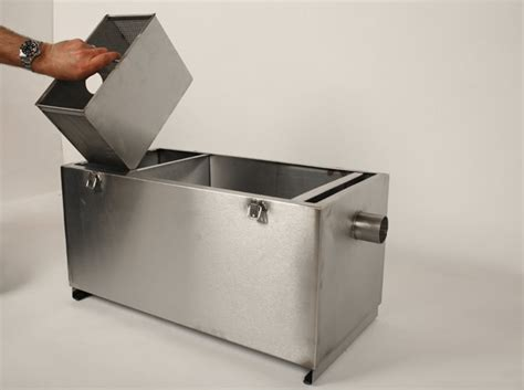 Kitchen Grease Trap Design by Grease Traps Stainless Steel Trap Grease Catcher Grease