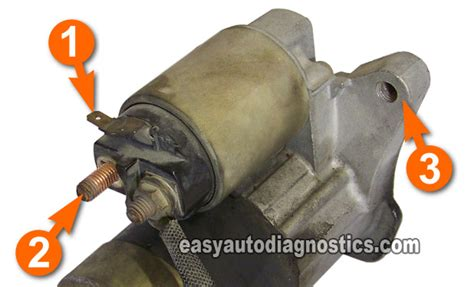 how to bench test starter part 1 how to bench test a starter motor step by step