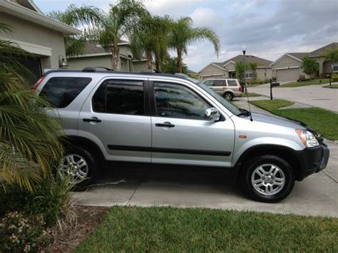 manual cars for sale 2002 honda cr v electronic throttle control buy used 2002 honda cr v ex 5 spd manual awd loaded low miles garaged low miles in orlando