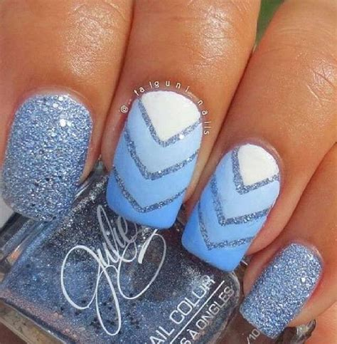 best 25 blue nail beds ideas on purple nail