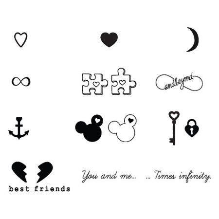 best friend henna tattoos tumblr tattify best friends temporary tattoos bffe set of 18