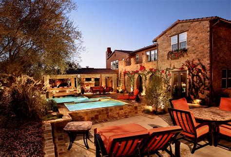 mediterranean backyard designs mediterranean landscaping newport beach ca photo