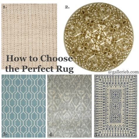 how to choose a rug how to choose the perfect rug gallerie b