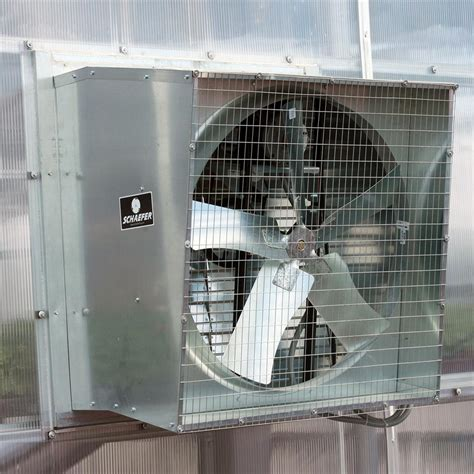 schaefer slantwall exhaust fan greenhouse megastore