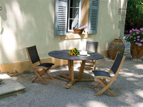 tekura round table tekura collection by les jardins
