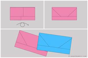 Origami Money Envelope - origami money envelope letterfold tutorial