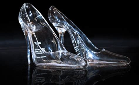 cinderella real glass slipper 24 best shoes images on heels high