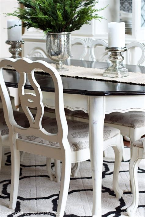 chalk paint dining room table dining room table makeover hometalk