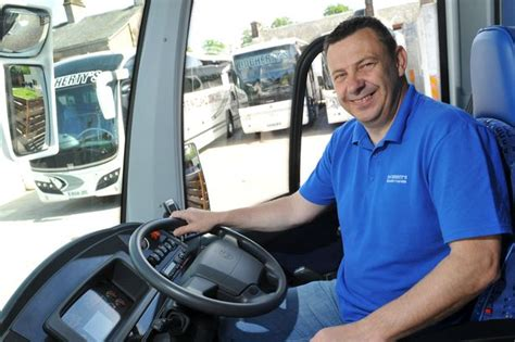 couch driver revealed st johnstone team bus driver celebrated 24 years