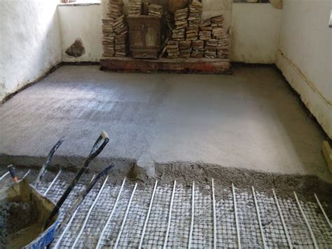 bathroom floor screed mix bathroom floor screed mix laying a limecrete floor st buryan cornwall