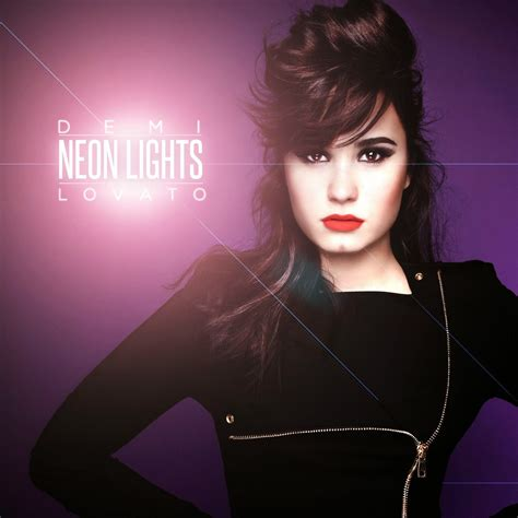 Demi Lovato Neon Lights Lyrics by Neon Lights Lyrics Demi Lovato Lyrics Plus Lyrics