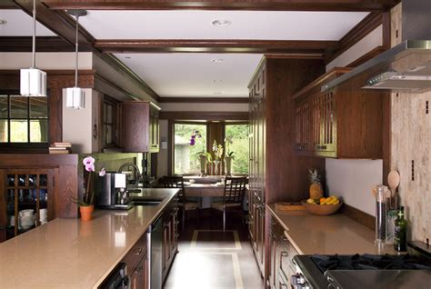 Prairie Style Homes Interior by Prairie Style Addition Kitchen Kitchen Traditional