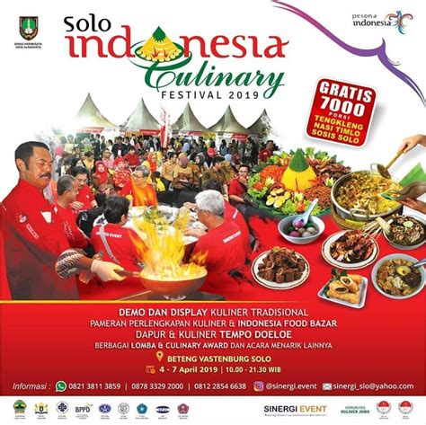 solo indonesia culinary festival  jadwal
