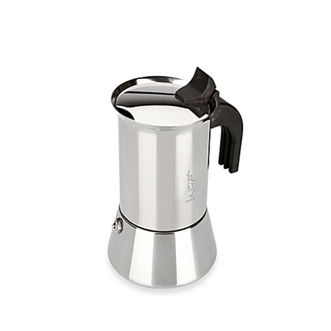Bialetti Pour 4 Cups 1 buy bialetti 174 venus stainless steel 4 cup espresso maker from bed bath beyond