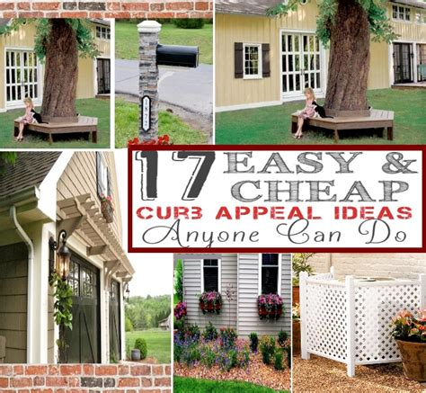 easy curb appeal ideas top 17 easy and inexpensive diy curb appeal ideas for your