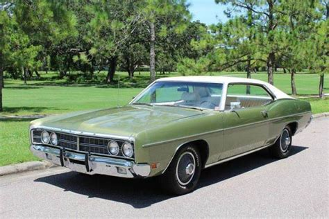1970 Ford Galaxie 500 by 1970 Ford Galaxie 500 500 37 368 Green Coupe 390