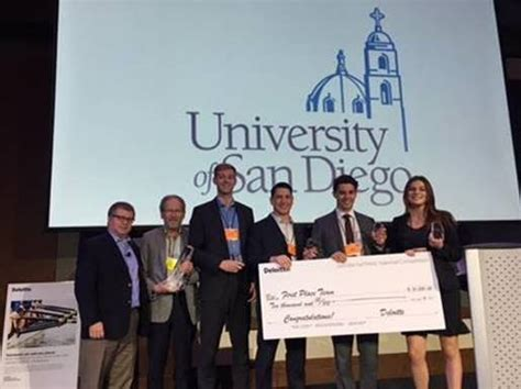 Deloitte Consulting Mba Competition 2018 by Usd Team Takes In Deloitte Tax Competition