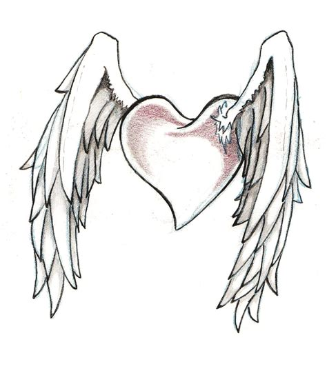 winged heart tattoo designs rodney s designs