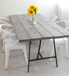 White Dining Table New Zealand 6 Diy Tables To Try Poppytalk