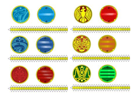 printable paper medals kamen rider core medals papercraft free printable