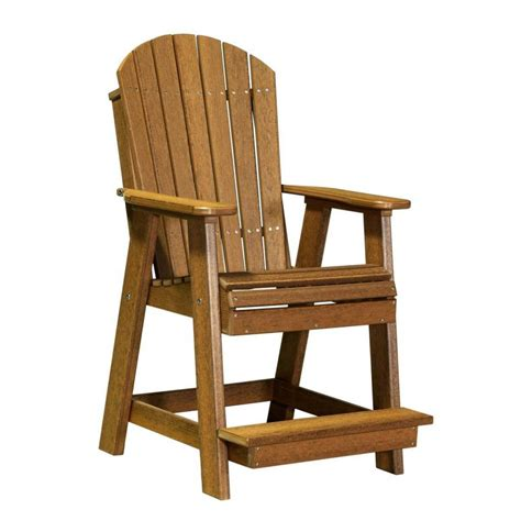 Luxcraft Adirondack Chairs by Luxcraft Poly Adirondack Balcony Chair 183 Hostetler S Furniture