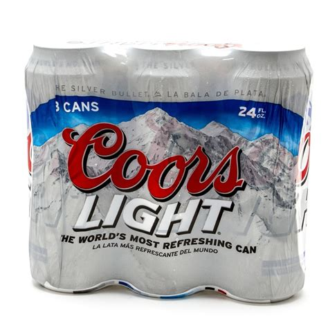coors light 24 pack price cans coors light beer 24oz can 3 pack beer wine and