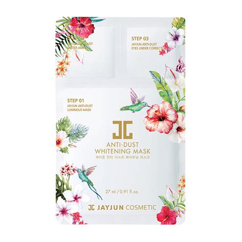 Jayjun Anti Dust Whitening Mask jayjun anti dust whitening mask debbie