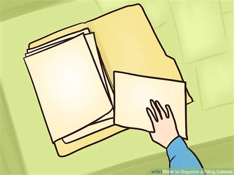 How to Organize a Filing Cabinet (with Pictures)   wikiHow