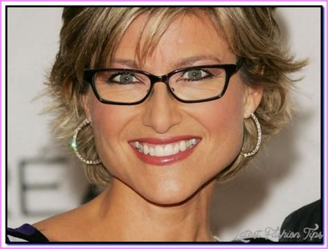 hairstyles glasses over 50 short hairstyles for women over 50 with glasses