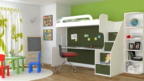 Kids Beds With Desk Home Design Youth Bunk Beds With Desks
