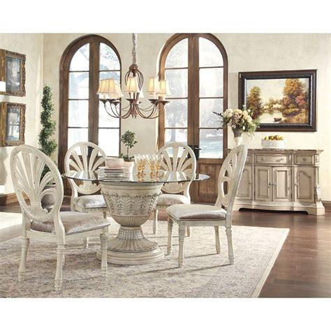 Ortanique Round Dining Room Set Millennium Furniturepick Ortanique Dining Room Set