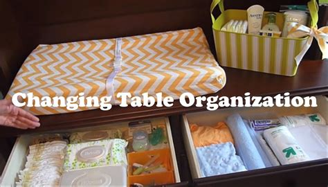Organize Changing Table Changing Table Organization On A Budget How To Organize A Changing Station
