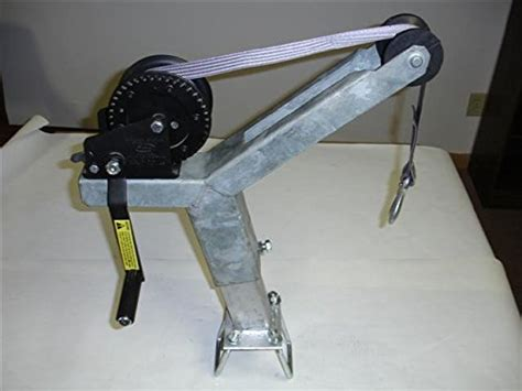 boat winch stand assembly winch stand w 1400lb dutton lainson winch and strap
