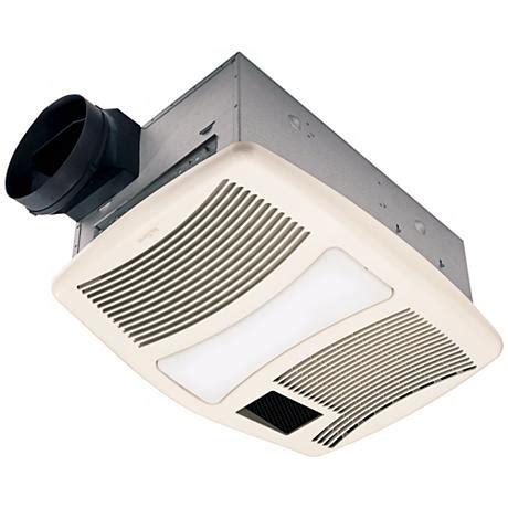 Bathroom Fan With Light And Heater Nutone 110 Cfm Heater And Light Bathroom Fan