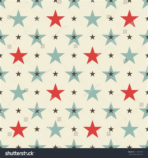 seamless pattern stars stars seamless pattern stock vector illustration 111807479