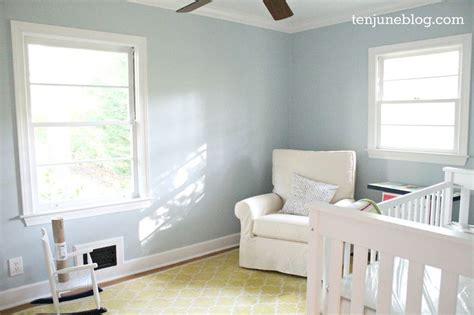 sherwin williams emerald reviews the blogging painters ten june nursery update a freshly painted baby boy s