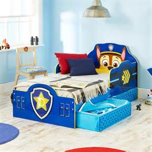 Toddler Car Bed With Storage Official Paw Patrol Toddler Bed With Storage Mdf New
