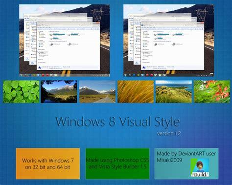 windows 8 1 theme for windows 7 windows 8 v1 2 theme for windows 7