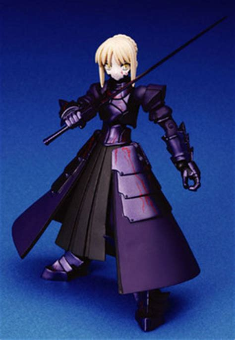 Mainan Figure Saber Alter Static Figure fate stay saber alter revoltech kaiyodo