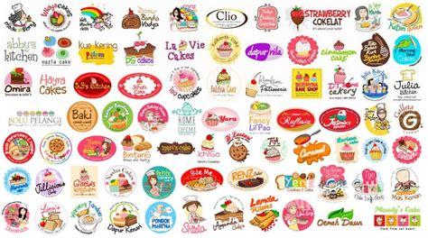 desain kartu nama kue contoh kartu nama makanan gamis murni