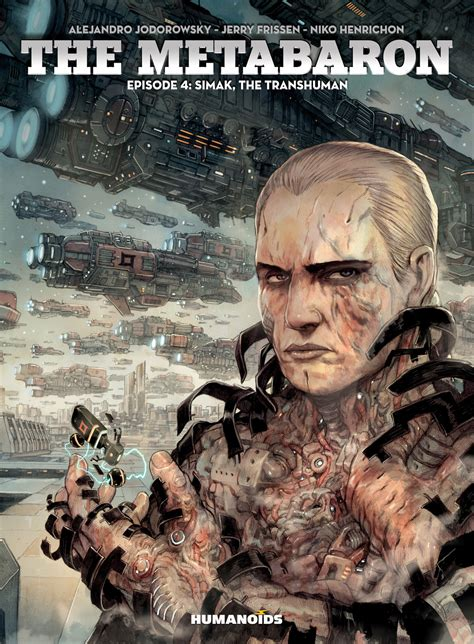 metabaron the book the metabaron 4 simak the transhuman digital comic