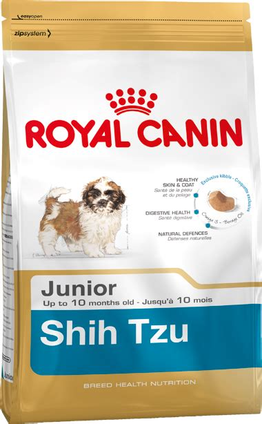 shih tzu puppy food intake shih tzu junior food royal canin 174